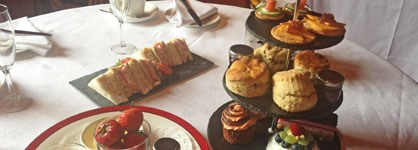 Stobo Castle Afternoon Tea from £19.95pp